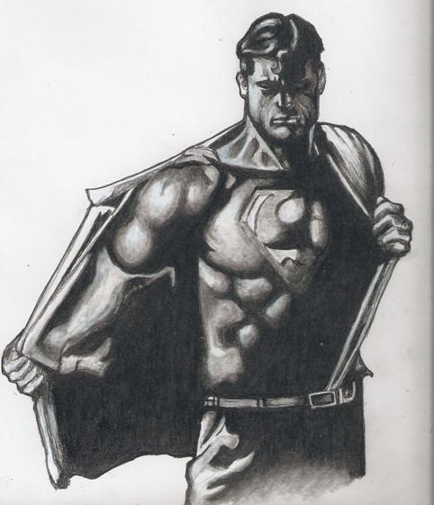 Superman by RobCrandall
